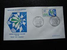 COTE D IVOIRE - enveloppe 1er jour 25/5/1963 (cy37)