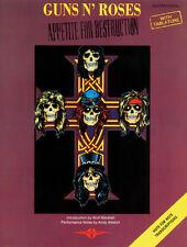 Appetite For Destruction Guns N Roses Rock Guitar Tab SONGS FABER Music BOOK