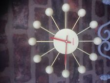 Vintage PUHLMANN Atomic Wall Clock