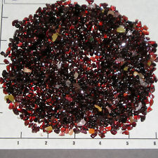 GARNET MALAWI Red, 4-10mm tumbled 1/2 lb bulk stones xmini semi-transluscent