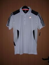 adidas 365 Herren Polo Poloshirt Sportshirt ClimaCool weiss weiß Grösse S neu