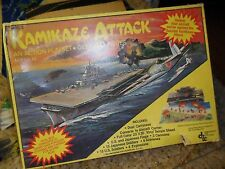 1981 DIMENSIONS KAMIKAZE ATTACK MILITARY ACTION PLAYSET 30 TOY FIGURES CANNONS