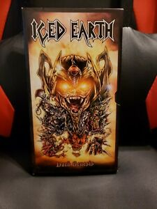 Iced Earth - Dark Genesis 5 Disc CD Limited Edition Box Set - very rare!