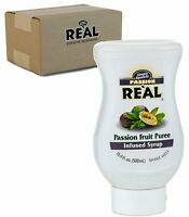 Real Passion Fruit Puree Infused Syrup, 16.9 fl. oz