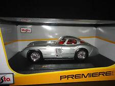 Maisto Mercedes 300 SLR Uhlenhaut 1958 Silver 1/18
