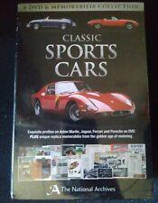 The National Archives Classic Sports Cars Memorabilia Set (DVD 2012, 4-Disc Set)