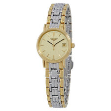 Longines Presence Champagne Dial Ladies Two Tone Watch L4.220.2.32.7