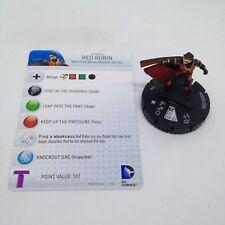 Heroclix Teen Titans set Red Robin #018 Uncommon figure w/card!