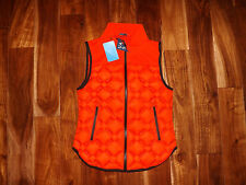 NWT Womens UAS Formation UNDER ARMOUR Orange Down Vest Size XS X-Small