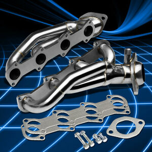 For 96-04 Ford Mustang GT 4.6 V8 SOHC Stainless Shorty Header Manifold Exhaust