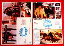 VIOLETTE ET FRANCOIS 1977 ISABELLE ADJANI JACQUES DUTRONC  2 X EXYU MOVIE POSTER