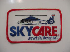 VINTAGE LOT OF 5 SKYCARE JEWISH HOSPITAL PATCH -EMBROIDERED / 4.5