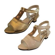 Calzado de niña sandalias de plata de color principal blanco