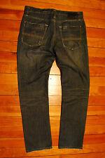"""Men's Tokyo Five 5 """"The Way""""  Slim Dark Denim Jeans (34 x 34)"""