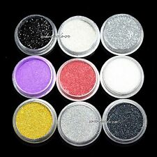 9 COLOR EYE POWDER EYESHADOW Cosmetics MAKEUP SALON ARTIST SET #1