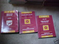1997 Dodge Viper Coupe and Roadster Service Manuals