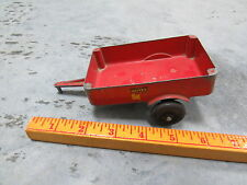 Vintage OLIVER Cast Aluminum Wagon Trailer Toy tractor SILK RARE!