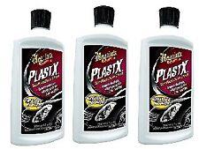 Meguiar's G12310 PlastX Clear Plastic Cleaner & Polish - 10 oz. (3 pack)