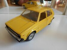 Mebetoys VW Volkswagen Golf 1 in Yellow on 1:25