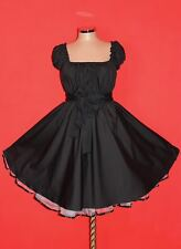NEU Gr 48 50 52 Damen ROCKABILLY 50er Petticoat Pin Up Abend Party Vintage KLEID