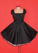 Gr 42 44 46 Damen ROCKABILLY 50er Petticoat Pin Up Abend Party Vintage KLEID