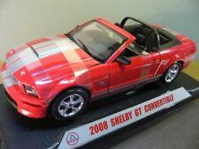 Revell Metall-sammlermodell 09083 - '08 Shelby GT Convertible rot Maßstab 1 18