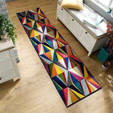 Flair Rugs Spectrum Danza Hand Carved Runner, Multi, 66 x 230 Cm