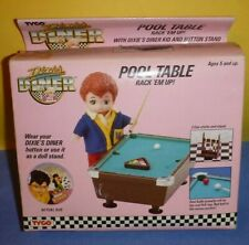 VINTAGE TYCO DIXIE'S DINER POOL TABLE RACK 'EM UP CUE STICKS MITCH DOLL VHTF OLD