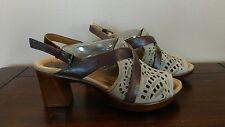Earth Womens Banyan Ankle Strap Sandal Heels Size 7.5B
