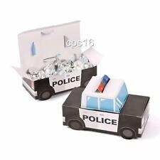 Police..Party Treat Boxes 12 PACK...Sheriff...Cop Car...