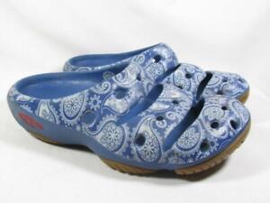 Keen Yogui Arts Rubber Clog Sandal Men size 9 Blue