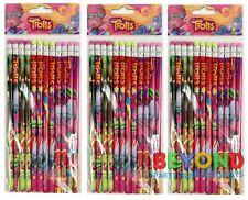 DreamWorks Trolls Wooden Pencils School Supplies Pencils Party Favors