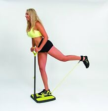Booty Maxx - Home Workout Exercise Equipment With Resistance Band Technology To