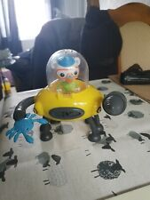 Octonauts Gup D Crab Mode Claw & Drill  with crab, Captain Barnacles(o12)