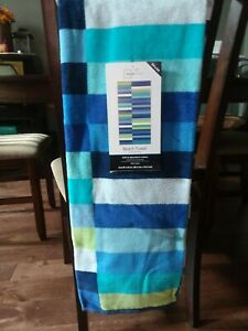 Mainstays 34×64 Beach Towel 100% Cotton, soft. Wonderful towel for every day