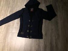 CIPO & BAXX Strickjacke Pullover, Cardigan LONG  Pulli Jacke WOLLE gr.L *38/40