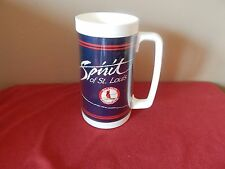 Spirit of St Louis / St Louis Cardinals Bud Light Beer Thermal Plastic Mug