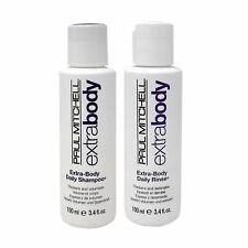 Paul Mitchell Extra-Body Daily Shampoo and Rinse 3.4 oz Duo