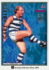 1995 Bewick AFL 4 Quarters Cards Series 1 Gold #8 Gary Ablett (Geelong)