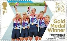UK ParalympicsGB Gold Medal Winner Single Stamp - Rowing MNH 2012