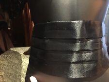 Vintage Black Tuzedo Cumberbunt Belt