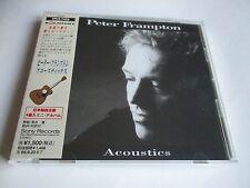 Peter Frampton Acoustics CD Japan Import OBI Strip 1994  SRCS-7453 NEW