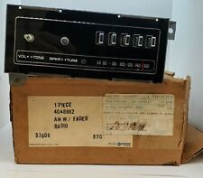 1977 1978 1979 1980 1981 1982 Plymouth Dodge Chrysler Radio NOS 4048862