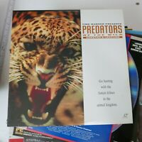 Predators Of The Wild Laserdisc Cheetah & Leopard Free Shipping