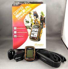 NEW GlobalSat GB-580F Bike GPS w/ Heart Rate Monitor ANT+ Speed & Cadence Sensor