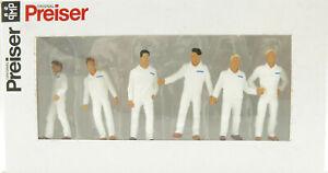 Preiser 68212 Various Mechanics Construction Industrial Mining White 1:50