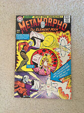 Metamorpho #1 The Element Man Great Condition 7.2