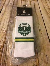 Strideline MLS Portland Timbers Soccer (1 Pair) Adult Crew Socks $18 [A379]
