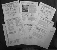 Lionel 1946-47 5459 Electronic Diecast Metal Ore Dump Car Service Information