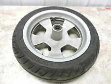 06 Yamaha CP 250 CP250 Morphous Scooter front wheel rim and tire